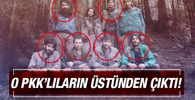 Ordu'da öldürülen PKK'lılardan bu fotoğraf çıktı!