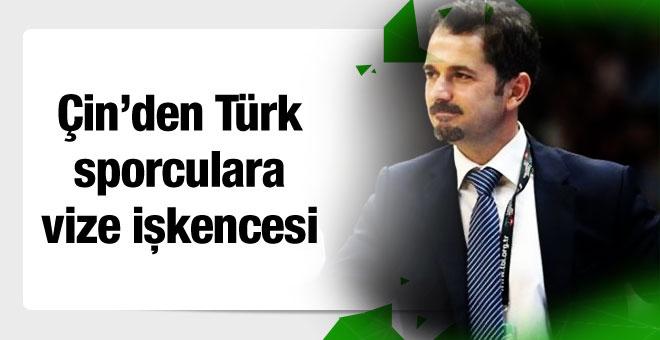 Çin Türk sporculara vize işkencesi yaptı!