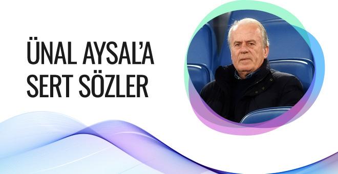Mustafa Denizli'den Ünal Aysal'a sert sözler