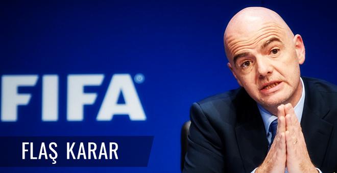 FIFA'dan flaş Dünya Kupası kararı!