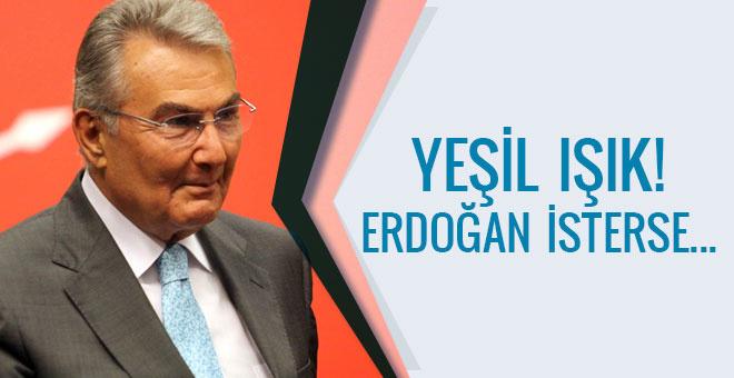Deniz Baykal'dan yeşil ışık! Erdoğan isterse...
