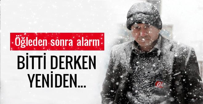 İstanbul hava durumu bitti derken yeniden