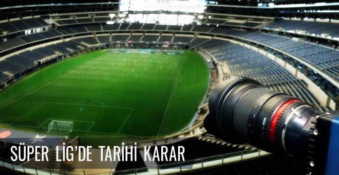 Türk futbolunda video hakem uygulaması başlayacak