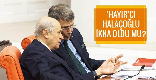 Devlet Bahçeli Yusuf Halaçoğlu'nu ikna edebildi mi?