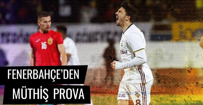 Fenerbahçe'den müthiş prova