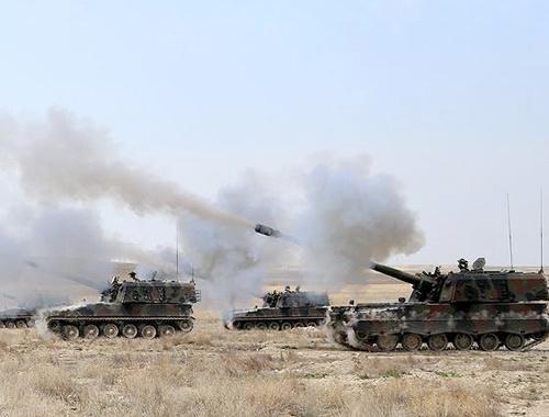 TSK Fırat Kalkanı Harekatı'nda DEAŞ'ı vurdu! 22 terörist öldü
