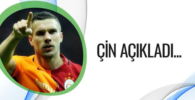 Çin'den Lucas Podolski açıklaması