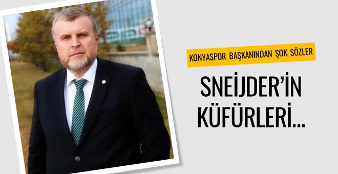 Konyaspor başkanı Mete Kalkavan'ı topa tuttu!