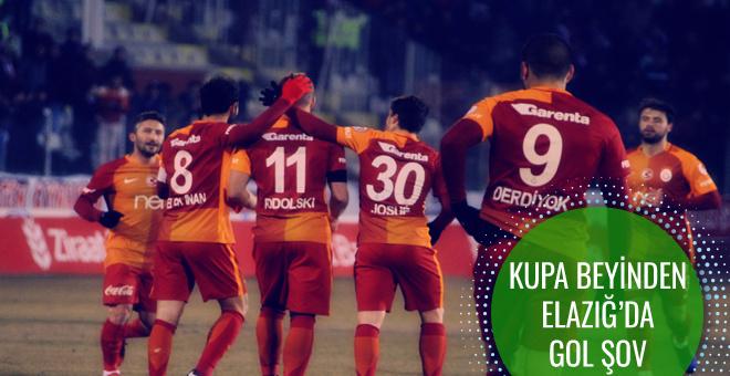Elazığspor Galatasaray maçı geniş özeti