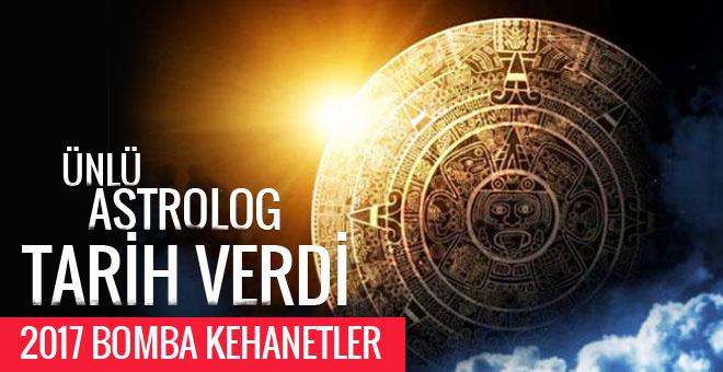 2017 Türkiye kehanetleri ünlü astrolog o tarihe işaret etti
