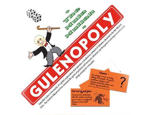 Monopoly'yi Gulenopoly yaptılar dünyada TT oldu