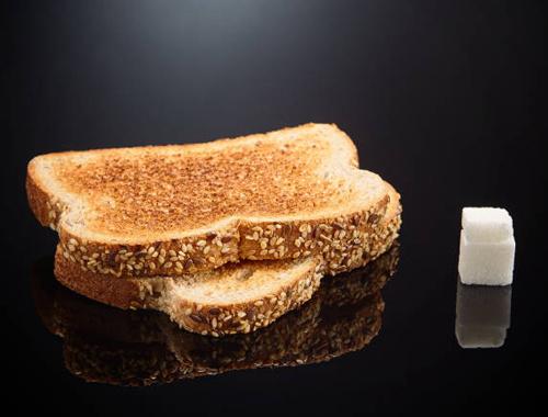 Şekersiz demeyin kuru ekmekte bile var