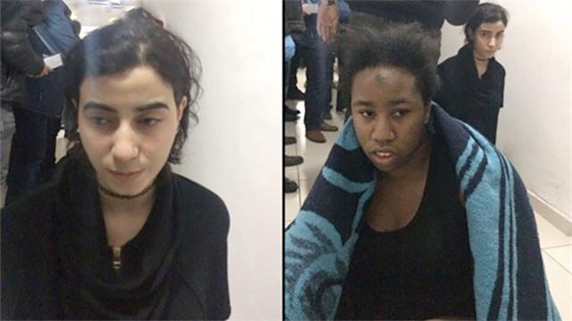 Teröristin yanındaki bu kadınlar kim? Büyük şüphe