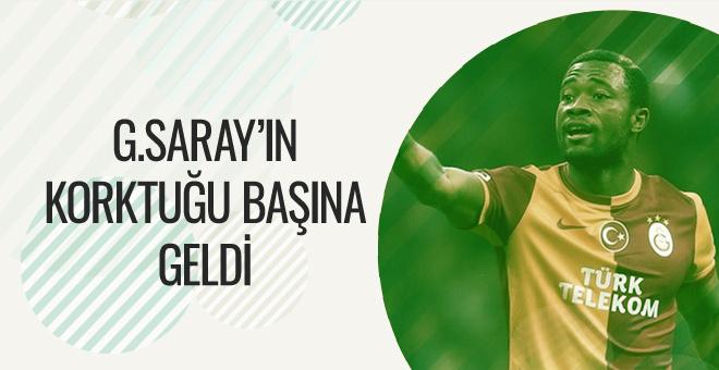 Galatasaray'da Aurelien Chedjou depremi