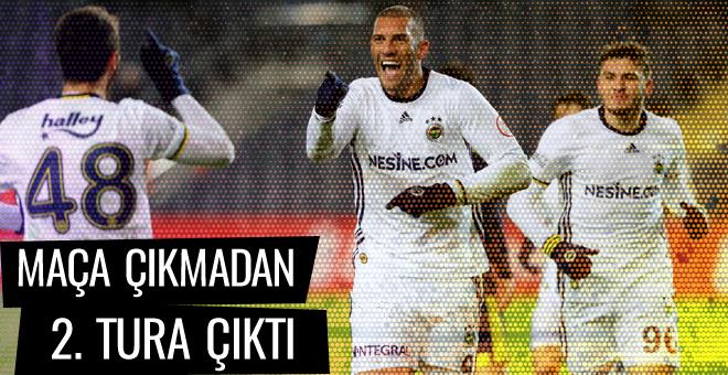 Fenerbahçe maça çıkmadan 2. tura çıktı
