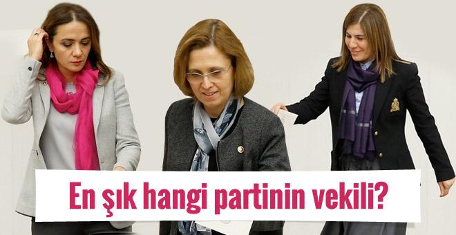 AK Parti-CHP-MHP ve HDP'nin kadın vekilleri! En şık hangisi?