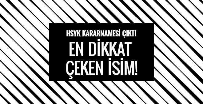 HSYK kararnamesi görev yeri değişen savcıların tam listesi