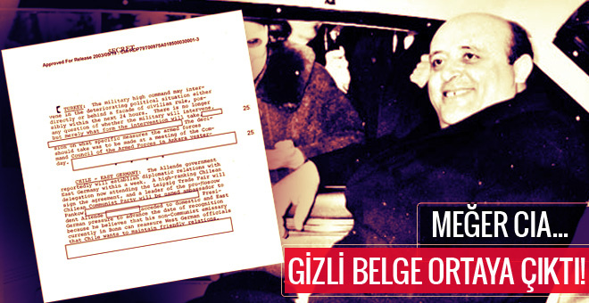 12 Mart  muhtırasının gizli belgesi ortaya çıktı! Meğer CIA...