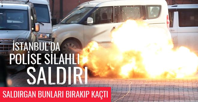 Esenyurt'ta son dakika polise ateş açıldı