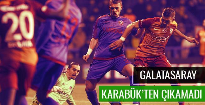 Karabükspor Galatasaray maçı CANLI YAYIN
