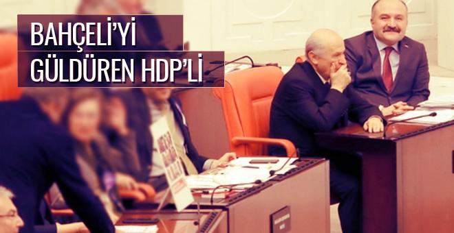 Bahçeli'yi güldüren HDP'li işte o sözler