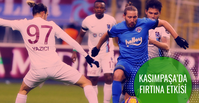Kasımpaşa Trabzonspor maçı geniş özeti