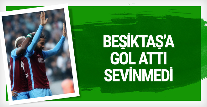 Olcay Şahan Beşiktaş'a gol attı sevinmedi