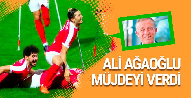 Ali Ağaoğlu'dan Ampute Milli Takımı'na ödül