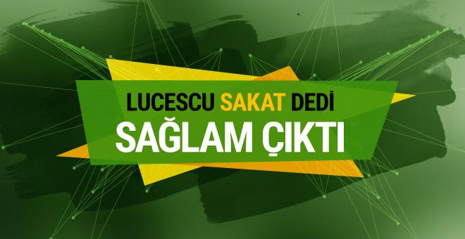 Lucescu'nun sakat dediği Serdar Aziz sağlam çıktı