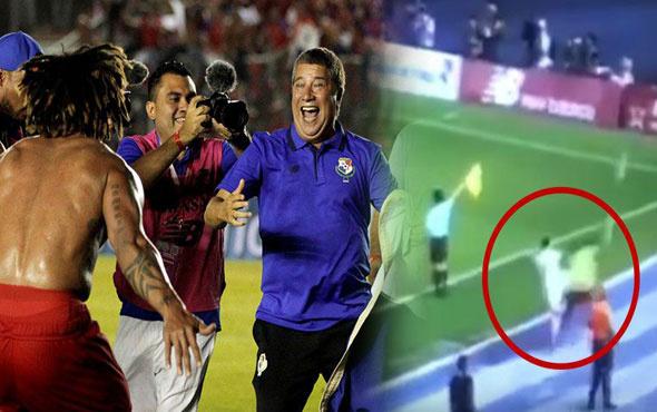 Panama maçında şok! Tarih yazmak için futbolcular kadar uğraşan top toplayıcı!