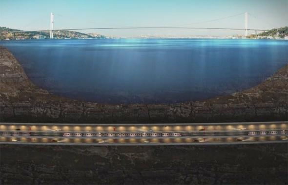 3 katlı İstanbul tüp geçit tünel projesi durakları