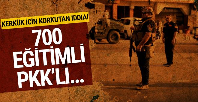 Korkutan iddia! 700 PKK'lı terörist Kerkük'e girdi