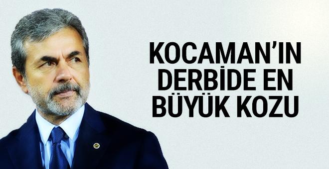 Aykut Kocaman'ın en büyük kozu