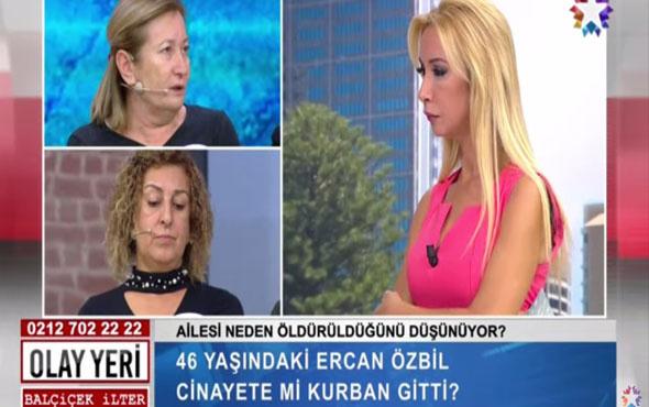 Olay Yeri Balçiçek İlter 46 yaşındaki Ercan Özbil cinayete mi kurban gitti?