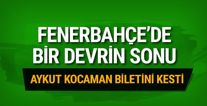 Fenerbahçe'de bir devrin sonu