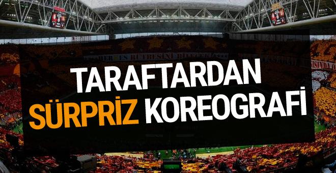 Fenerbahçe derbisinde sürpriz koreografi