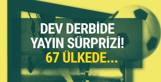 Galatasaray-Fenerbahçe derbisi tam 67 ülkede yayınlanacak
