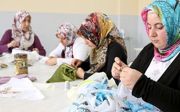 Ev kadınlarına faizsiz 15 bin lira kredi