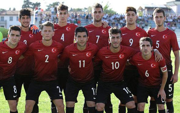 U19 Türk Milli Takımı'nın aday kadrosu belli oldu