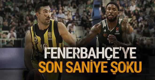 Fenerbahçe Doğuş Panathinaikos'a yenildi