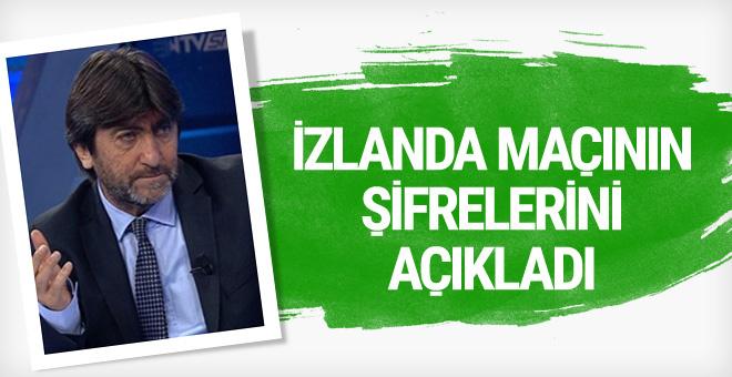 Rıdvan Dilmen galibiyetin şifresini açıkladı
