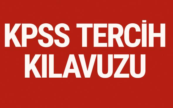 KPSS 2017/2 tercih kılavuzu ösym tercih başvuru ekranı