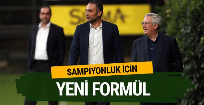 Fenerbahçe'de şampiyonluk için yeni formül