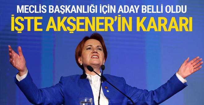 İYİ Parti'nin Meclis Başkanlığı için adayı Yusuf Halaçoğlu oldu