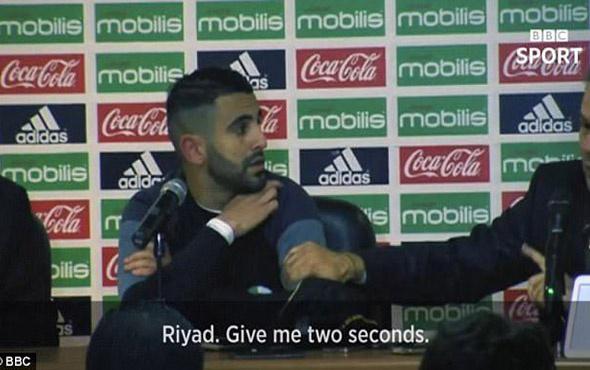 Cezayir Mili Takım Teknik Direktörü Rabaj Madjer'i çıldırtan soru