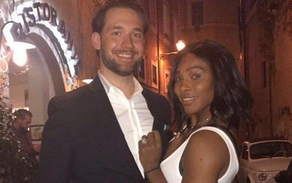 Ünlü tenisçi Serena Williams evlendi