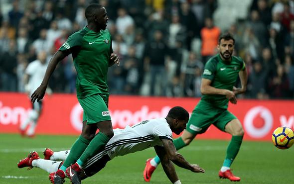 Beşiktaş-Akhisar maçı fotoğrafları