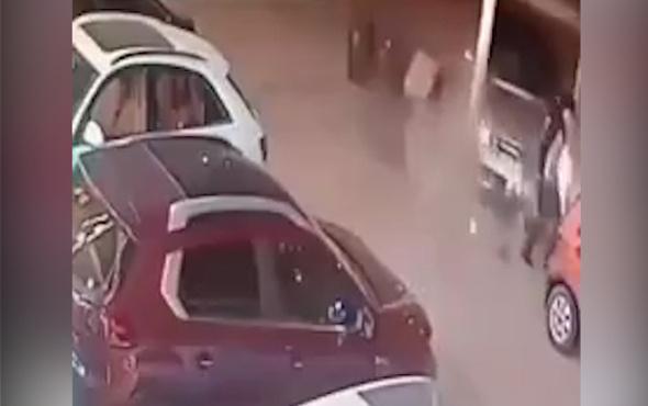 2 saniyede 2 kez ölümden döndü