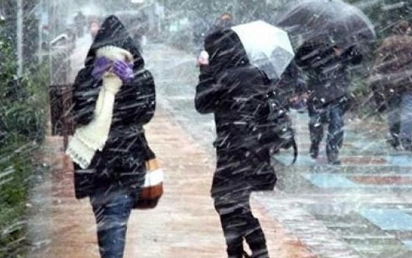 Hava durumu uyarısı!  İstanbul ve Ankara'ya fena geliyor