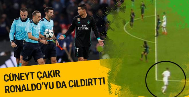 Cüneyt Çakır Real Madrid'i isyan ettirdi